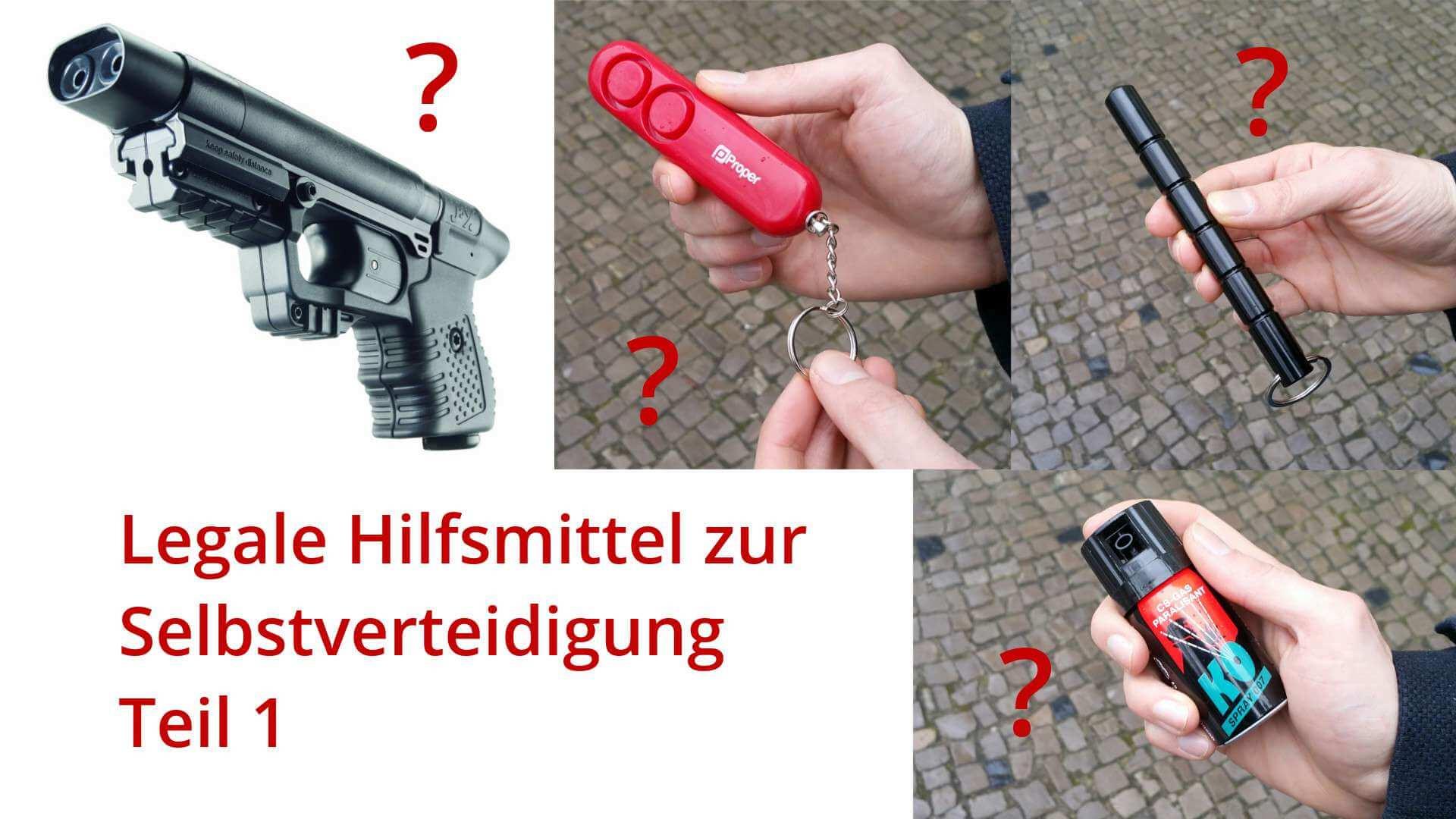 Legale Waffen & Mittel zur Selbstverteidigung: Was ist erlaubt und ...